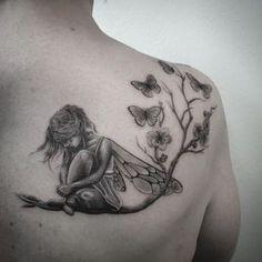 Small fairy tattoos, small tattoos, struggle tattoo, new tattoos, unique . Gesundheits Tattoo, Leg Tattoos, Body Art Tattoos, Sleeve Tattoos, Fairy Sleeve Tattoo, Flower Tattoos, Tattoo Lyrics, Tattoo Music, Tattoos Skull