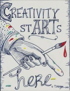Creativity Starts Here - http://www.oroscopointernazionaleblog.com/creativity-starts-here/