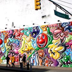 Kenny Scharf Mural.