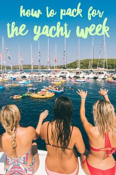 How to Pack For THE Yacht Week!