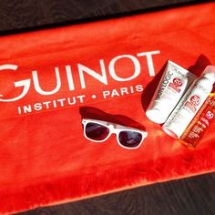 NEW VIDEO  Head over to our Facebook page and find out all about the SUN LOGIC body products and aftercare . Buy 3 products from the Sun Logic line and get this amazingly bright orange beach towel! . #suncare #summerishere #firstdayofsummer #safetan #guinot #guinotearlsfield #guinotcrownsalon #sunlogic #wimbledon #wandsworth #earlsfield