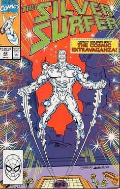 Silver Surfer Vol. 3 # 42 by Ron Lim & Tom Christopher