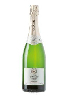 Metodo Classico Extra Brut VSQ na Punta - Franco Conterno Wines, Champagne, Bottle, Flask