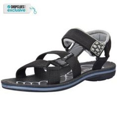 V Tree Mens Grey and Black Floaters