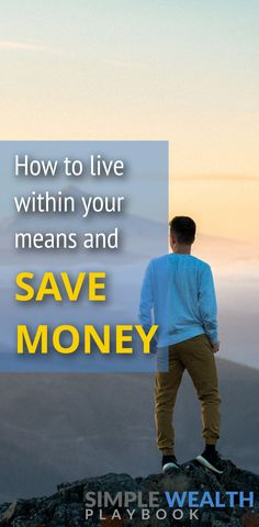 Learn how to live within your means, avoid overspending and save more money! Read this blog post for more details!