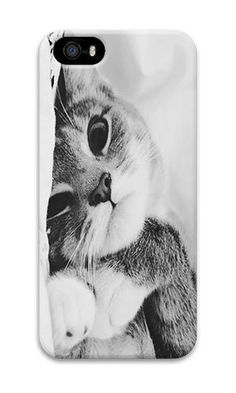 iPhone 5S Case AOFFLY® Cute Black And White Cat PC Ha... http://www.amazon.com/dp/B014AVBJ4U/ref=cm_sw_r_pi_dp_j6ylxb0EKTVJF