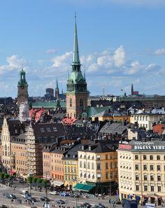 https://flic.kr/p/dsra7Q | Gamla stan le vieille ville, Stockholm, Suède.