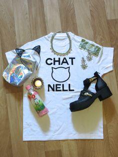 SHOP IT NOW ON STRADIVARIUSISTERS.BLOGSPOT.COM or stradivariusisters@gmail.com #fashion #chanel #chatnell #cat #streetwear #ootd Streetwear, Chanel, Ootd, Sweatshirts, Sweaters, Shopping, Women, Fashion, Street Outfit