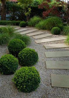 46 besten Schmaler Garten Bilder auf Pinterest   Backyard patio ...