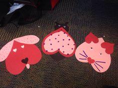 Classroom valentines crafts :)