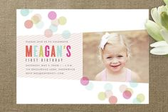 Party Invites - Concept 2 Confection Children's Birthday Party by Kristie Ke... at Minted.com