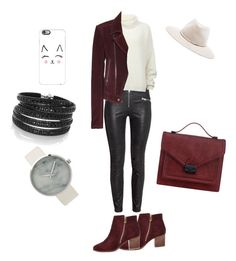 """Look para el Martes!!!"" by luciaysuscositas on Polyvore featuring Designers Remix, Balenciaga, Sif Jakobs Jewellery, River Island, Loeffler Randall, rag & bone and Casetify"