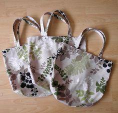 Ekotorby, siatki na zakupy w liście / eco shopping bags