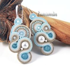 beautiful soutache earrings :)