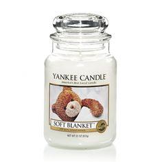 Soft Blanket : Large Jar Candle : Yankee Candle #YankeeCandle #MyRelaxingRituals