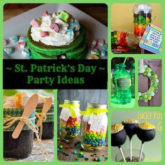 St. Patrick's Day Themed ideas & recipes!!