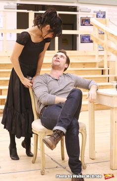 Photo Coverage: In the Rehearsal Room with Vanessa Hudgens and the Company of GIGI- Performance Preview!