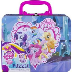 My Little Pony 48-Piece Puzzle in Tin Box with Handle
