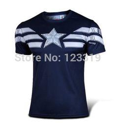 diy new captain america costume | Hochwertige neue 2014 Wunder Captain America 2 kostüm Superhelden ...