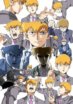 Uploaded by ad astra. Find images and videos about mob psycho and reigen arataka on We Heart It - the app to get lost in what you love. One Punch Man, Manga Anime, Anime Art, Mob Psycho 100 Anime, Mob Physco 100, Otaku, Hot Anime Guys, Anime Kawaii, Character Development