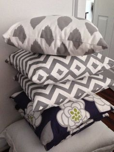 Pillow pattern combination