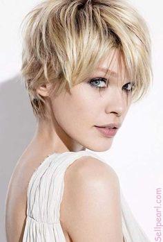 "Asymmetrical Haircut   The Best Short Hairstyles for Women 2015"""
