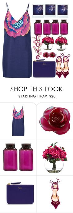 """""""the flower look color"""" by licethfashion ❤ liked on Polyvore featuring Mara Hoffman, Daum, Polaroid, Lux-Art Silks, Mulberry, Bionda Castana, polyvoreeditorial and licethfashion"""