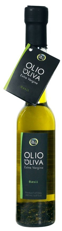 Basil Olive Oil, Perfect for Salad Dressing