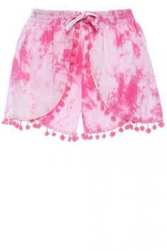 Primark Pink Tassle Shorts, £6
