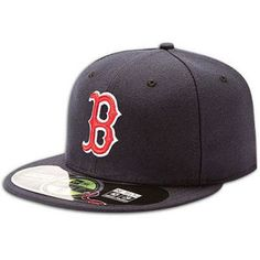 Boston Red Sox New Era MLB 59Fifty Authentic Cap - Mens - Navy Red  bd76bc801c8ce