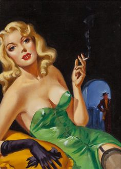 Juxtapoz Magazine news on Heritage Auctions's pulp art auction. Includes works by Norman Saunders, Mort Kunstler, and more