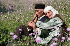 ♥ Iranian old lovers - Gilan - IRAN