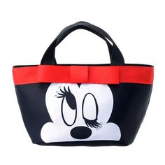 Minnie Mouse Ribbon Tote Bag