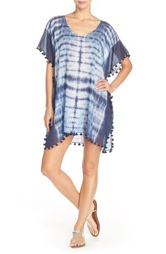 Seafolly 'Project' Tie Dye Caftan