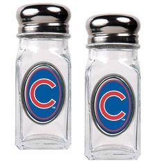 Chicago Cubs Salt and Pepper Shaker Set #cubs #baseball #mlb
