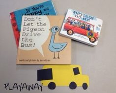Activities for Don't Let the Pigeon Drive the Bus!