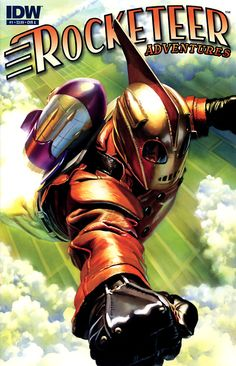 Rocketeer Adventures #1, May 2011, cover by Alex Ross