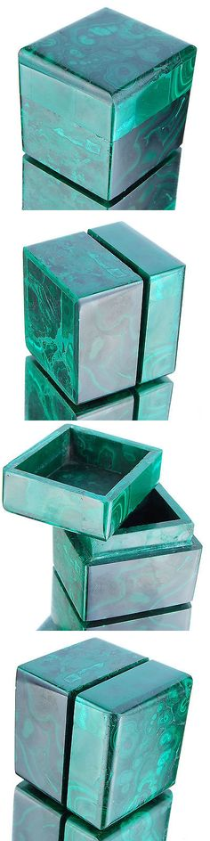 Malachite 10236: 1009 Cts Unique Natural Malachite Box Finest Quality Collector S Huge Gemstone -> BUY IT NOW ONLY: $199 on eBay!