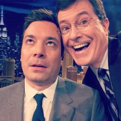 Stephen Colbert's selfie during $100 Bet was totally real.