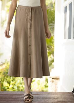 08b4cca22 39 Best Linen Skirts For Women images in 2013 | Linen skirt, A line ...