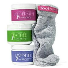 Foot Cream and Sock Gift Set from Foot Nanny, one of Oprah's Favorite Things 2014 Gifts For Teens, Gifts For Women, Christmas Wishes, Christmas Gifts, Cute Gifts, Great Gifts, Clear Tote Bags, The Giving Tree, Foot Cream