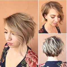 Created this beautiful cool blonde and textured bob on my beautiful friend @rebeccapetersmusic in So Cal. this weekend. Go check her out! Amazing vocalist!