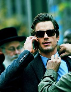just stop it, Matt Bomer. the hair, the sunglasses, the others primping u; just stop. <3.