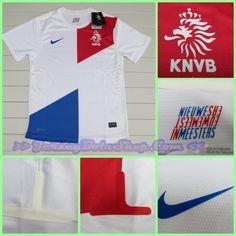 Jersey Belanda Away Player Issued 2013-2014