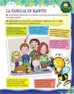 Fichas de Actividades - La familia Martín