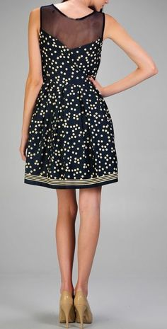LOVE this for My Lovely Daughter ! Polka Dot Party Dress <3 SO cUte!