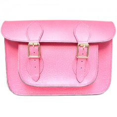 Marlborough Worlds Pink 11 inch Leather Satchel l is handmade in our workshop in England Leather Satchel, Satchels, Workshop, England, Range, Luxury, Lady, Pink, Handmade