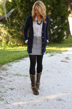 That's how you layer! #boyfriend cardigan.... But Lord help the child find better boots!!
