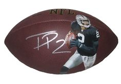 Oakland Raiders Terrelle Pryor signed NFL Wilson full size football w/ proof photo.  Proof photo of Terrelle signing will be included with your purchase along with a COA issued from Southwestconnection-Memorabilia, guaranteeing the item to pass authentication services from PSA/DNA or JSA. Free USPS shipping. www.AutographedwithProof.com is your one stop for autographed collectibles from Oakland sports teams. Check back with us often, as we are always obtaining new items.