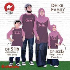 Dhikr Clothes Juaranya Kaos Keluarga Muslim Open Reseller & Agen Disc 20% - 40%